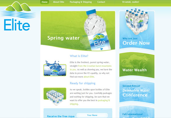 blue&green-web design طراحی سایت